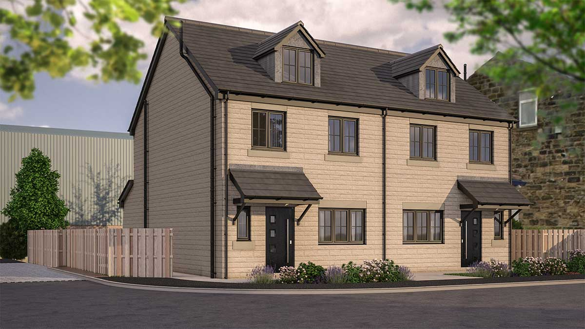 The Old Shoulder Morley Front Development Photo Dan Pearce Sells Homes Next Generation Developments Limited